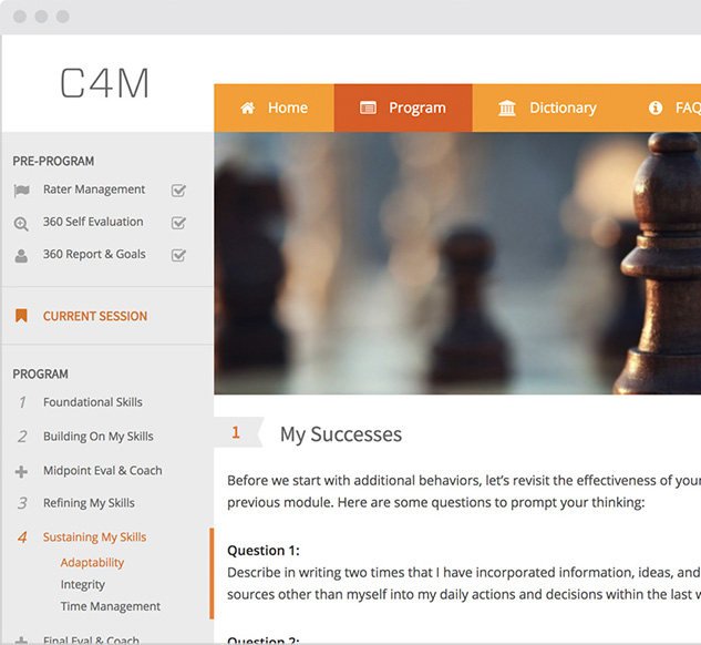 Coaching for Management: C4M